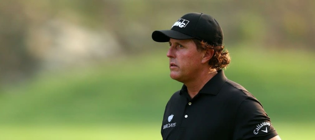 Phil Mickelson im Ryder Cup Team 2014
