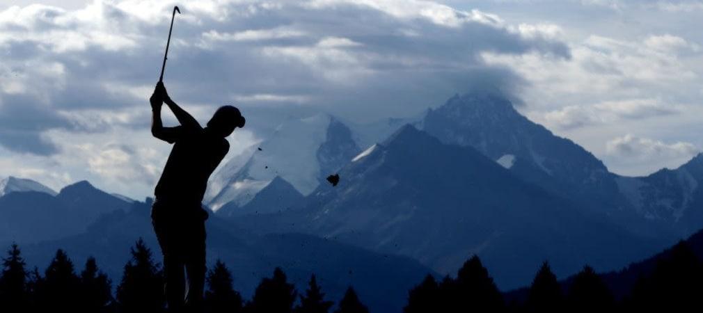 Das Omega European Masters findet wie jedes Jahr vor der beeindruckenden Schweizer Berglandschaft statt. (Foto: Getty)