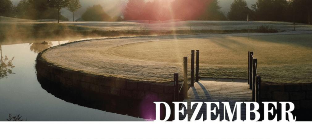 Das Dezember Motiv: Golf- und Landclub Bad Arolsen - Bahn 9/18 - 116m (Foto: Silke Schütt)