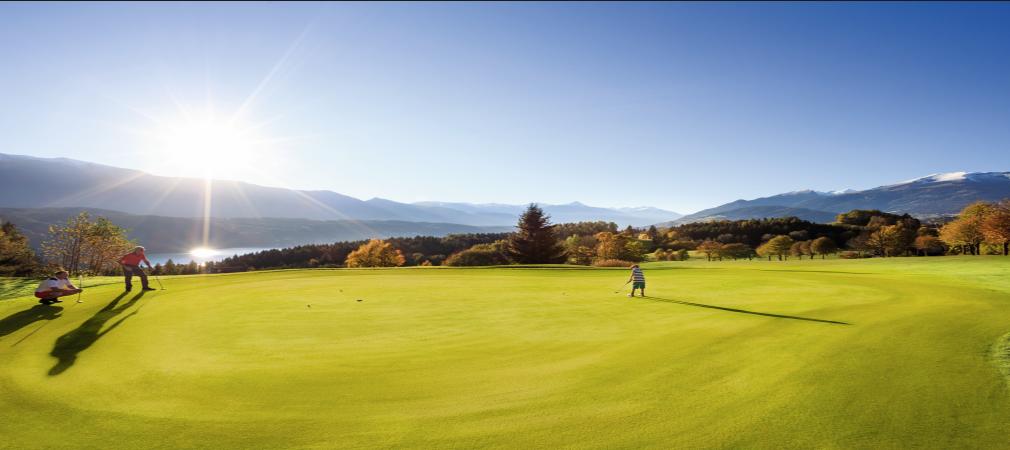 Golfurlaub in Kärnten - dafür muss man nicht in die weite Ferne reisen (Foto: Kärnten Werbung)