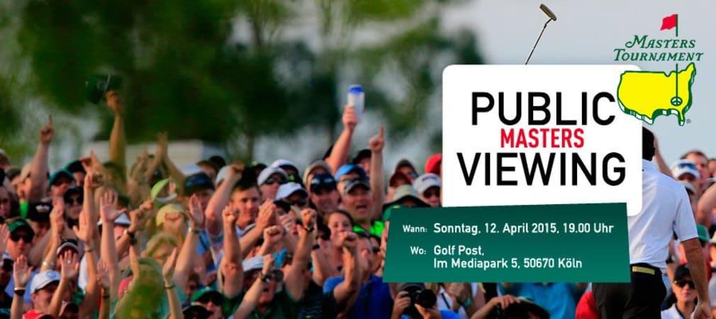 Masters Golf Tournament 2015 in Augusta: Gemeinsames Public Viewing bei Golf Post!
