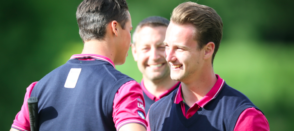 Der Stuttgarter Golfclub Solitude konnte den ersten Spieltag für sich entscheiden. (Foto: DGV/Stefan Heigl)