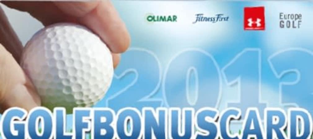 GolfBonusCard – Die Vorteilskarte (Foto: GolfBonusCard)