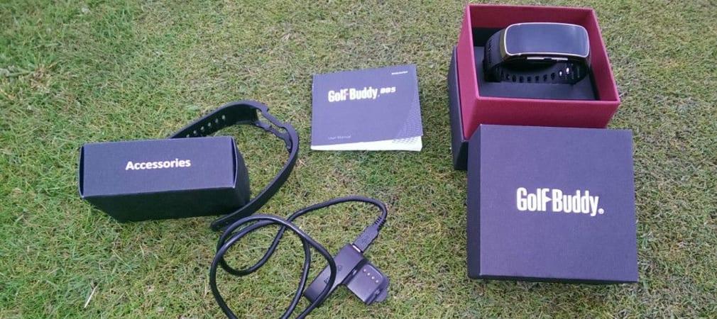 Uhr war gestern, 2015 gibt es das Golf-Band! Der GolfBuddy BB5 ist die GPS Uhr der nächsten Generation. (Foto: Golf Post)