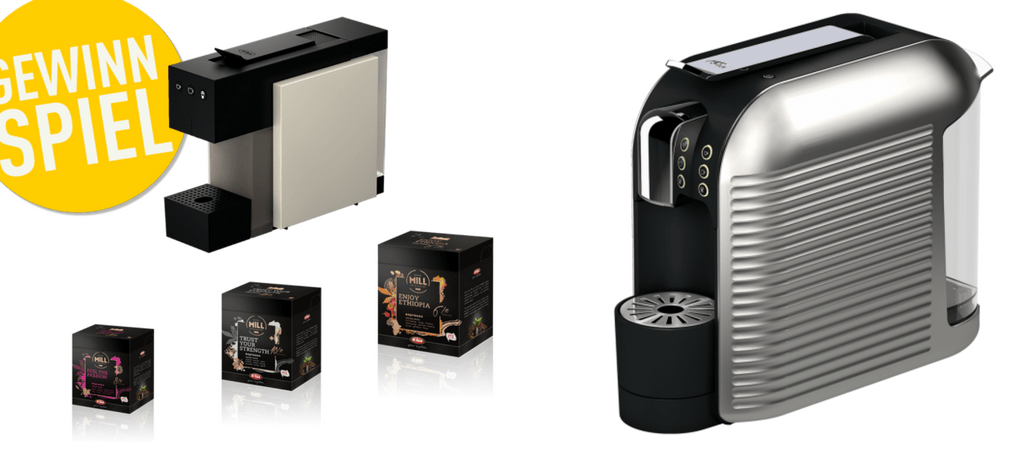 Golf Post verlost zwei hochwertige Kaffeemaschinen von K-fee: die Kapselmaschine Wave und die Kapselmaschine Square. Jetzt mitmachen! (Bild: K-fee)