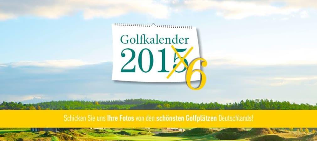 Bewerben Sie sich jetzt für den Golf Post Golfkalender 2016! (Foto: Golf Post)