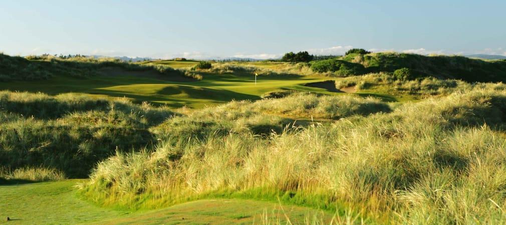 Der Golfplatz Bandon Dunes verläuft entlang der Pazifikküste. (Foto: Getty)