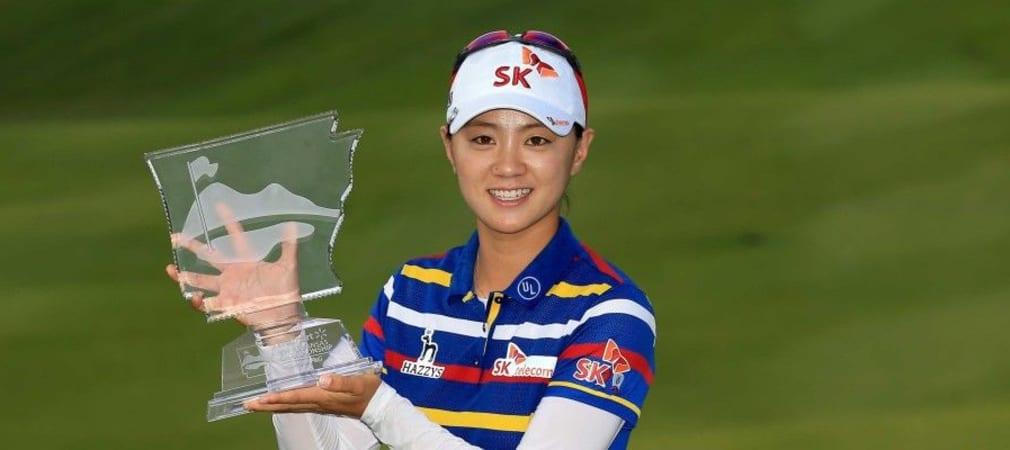 Na Yeon Choi holt sich bei der Walmart NW Arkansas Championship ihren zweiten Saisontitel ab. (Foto: Getty)