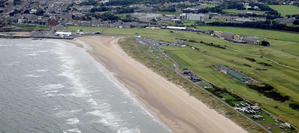 Der Old Course von St. Andrews gilt als Ursprungsort des Golfsports.