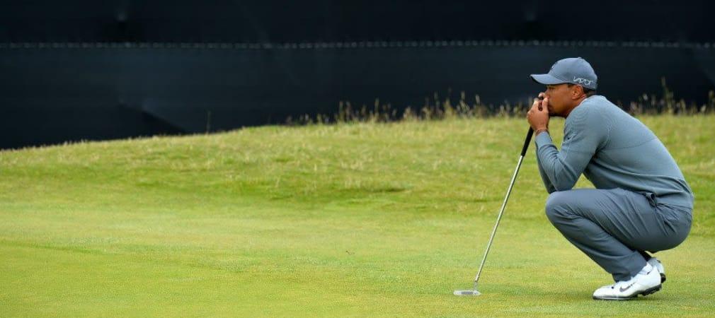 So viel vorgenommen, und doch vergeigt: Mal wieder ein Tag zum vergessen für Tiger Woods. (Foto: Getty)