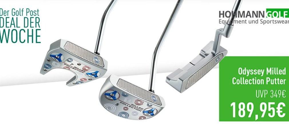 Odyssey Milled Collection im Deal der Woche mit Hohmann Golf. (Bild: Golf Post)