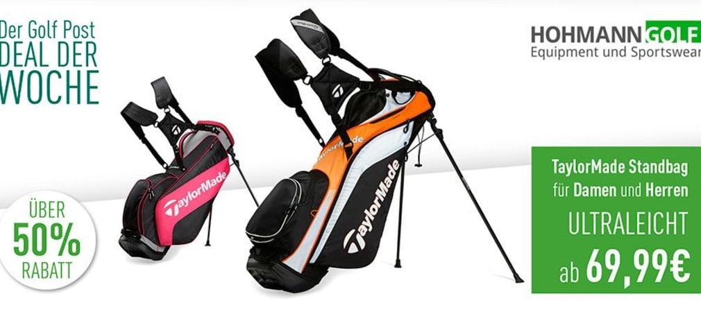 Diese Woche im Deal der Woche: TaylorMade Standbags bei Hohmann Golf. (Quelle: Golf Post)