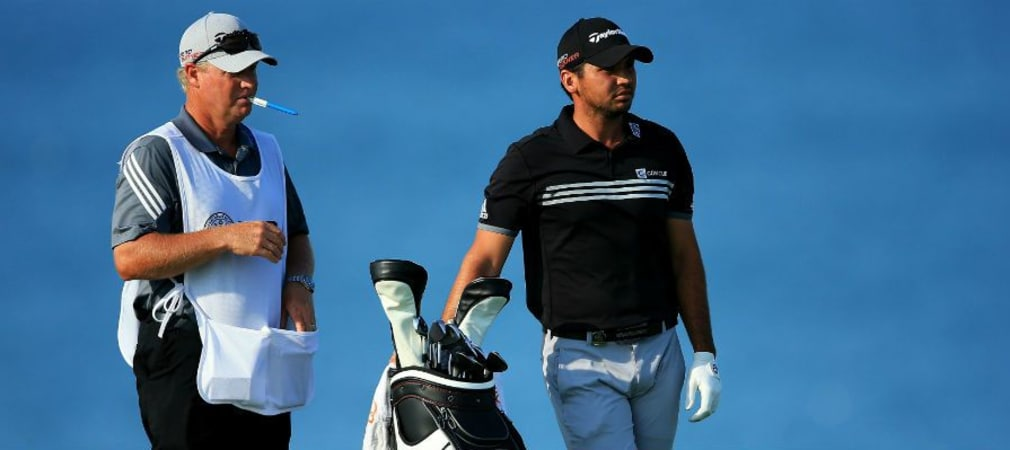 Jason Day Blick ins Bag The Barclays