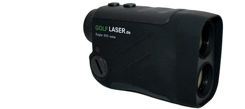 Nie wieder schätzen! Golflaser Eagle 600 Solar im Deal der Woche (Foto: Golf Post)
