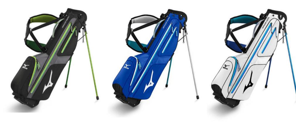 Mit nur 1,4kg ein Fliegengewicht - das Mizuno Aerolite Golfbag. (Foto: Golf Post)