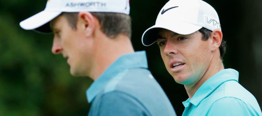 Der Start von Justin Rose (l.) und Rory McIlroy bei der Frys.com Open ist ein Zugeständnis an die PGA Tour für einen lange zurückliegenden Trip in die Türkei.