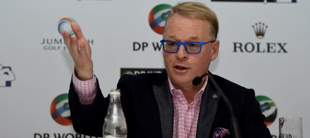 Keith Pelley, CEO der European Tour will Slowplay bekämpfen: