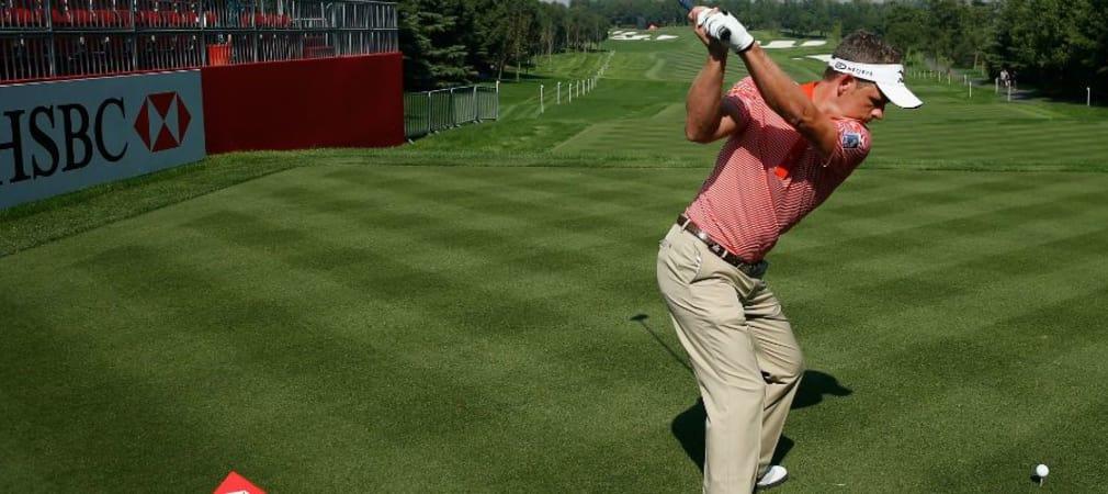 Luke Donald, der Engländer mit dem beneidenswerten Schwung, schaltet den Kopf beim Schwung am liebsten aus. (Foto: Getty)