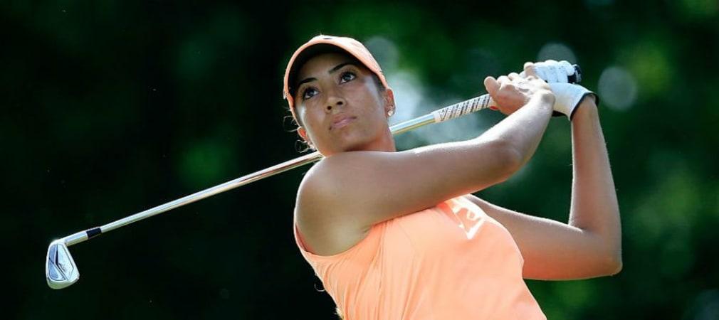 Cheyenne Woods erspielt sich volle LPGA-Tourkarte. (Foto: Getty)