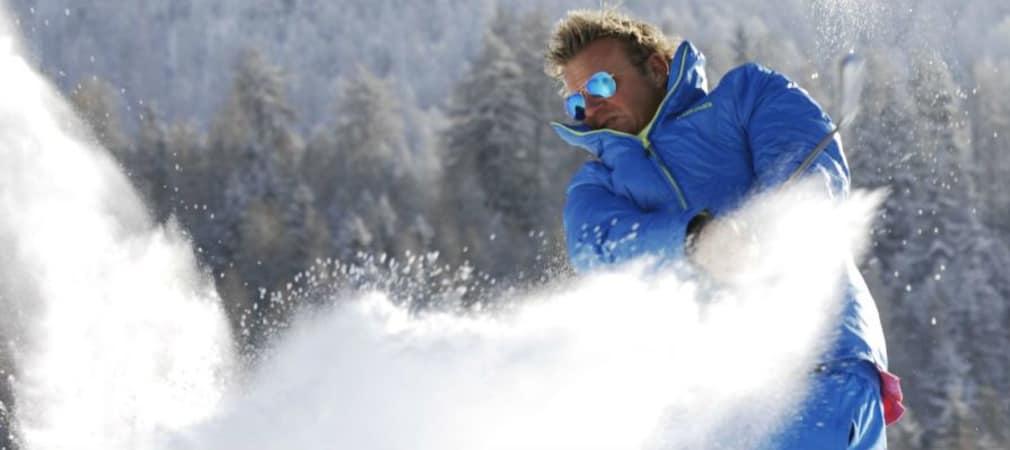 Adi Hengstberger ist zweifacher Schneegolf-Weltmeister.