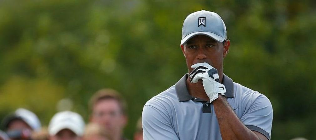 Tiger Woods hatte 2015 viel Pech: Verletzungen, Pausen, Schwungumstellung - das hat sich auch in der Weltrangliste niedergeschlagen. (Foto: Getty)