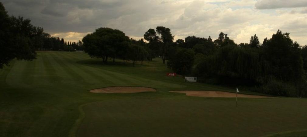 Wegen eines nahenden Gewitters wurde auch die dritte Runde der South African Open abgebrochen. (Foto: Getty)