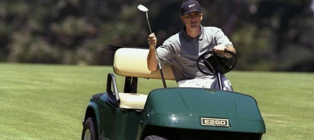 Casey Martin gelang bei der US Open 1998 mit dem Golfkart der Sprung in die Top 30. (Foto: Getty)