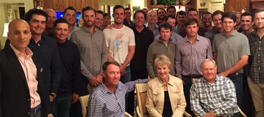 Jack Nicklaus lud die potenziellen Ryder-Cup-Starter des Team USA zum Dinner.