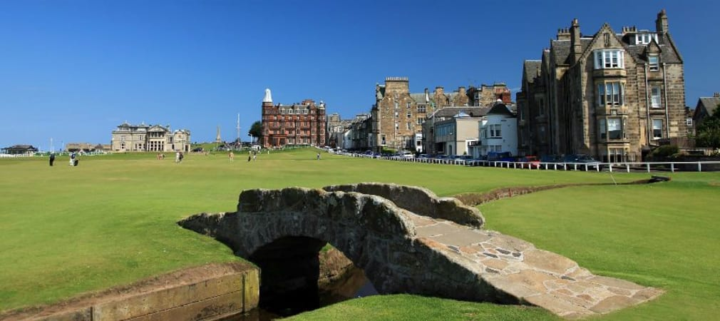 Der Old Course in St. Andrews wird 2018 zum ersten Mal Austragungsort der Senior Open Championship. (Foto: Getty)