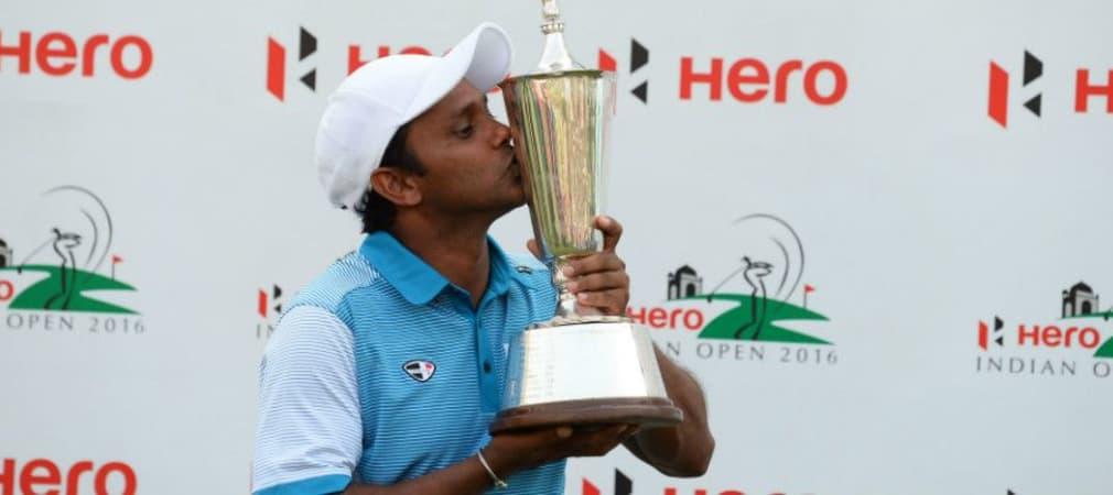 SSP Chawrasia holt sich bei der Hero Indian Open seinen dritten European-Tour-Titel. (Foto: Getty)