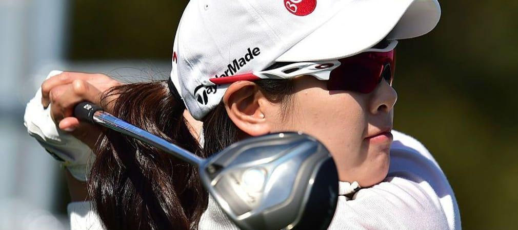 Lee Jung-Min aus Südkorea iegt bei der World Ladies Championship. (Foto: Getty)