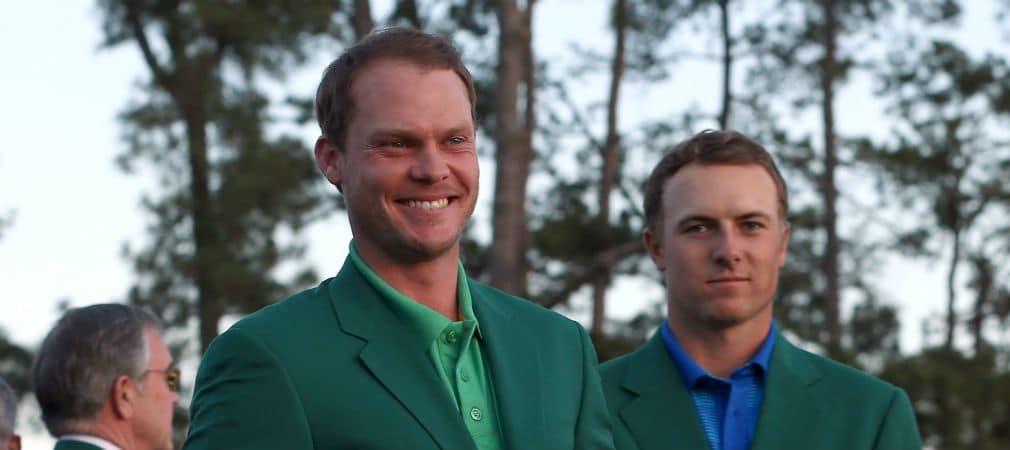 Strahlender Sieger und tapferer Verlierer: Danny Willett und Jordan Spieth nach einem packenden Finale von Augusta. (Foto: Getty)