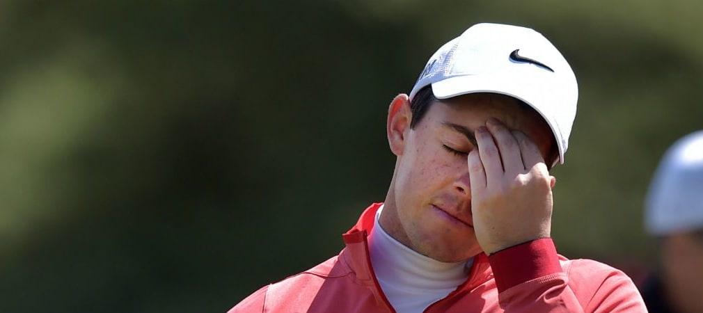 Zu viel mit dem eigenen Kopf beschäftigt? Auch Rory McIlroy kämpft manchmal mit Erwartungsdruck. (Foto: Getty)