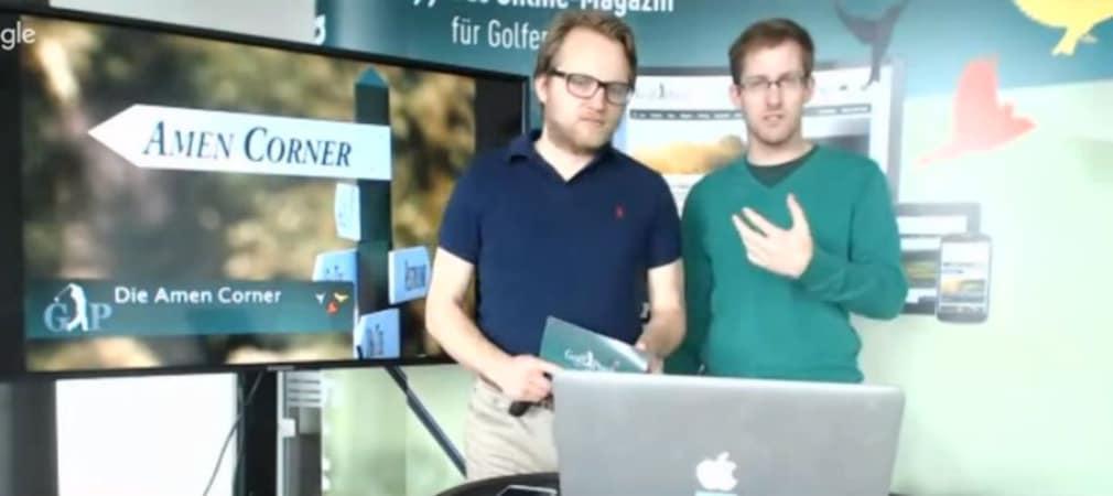 Ein Golf Post Talk im Zeichen des Masters. (Foto: Golf Post)