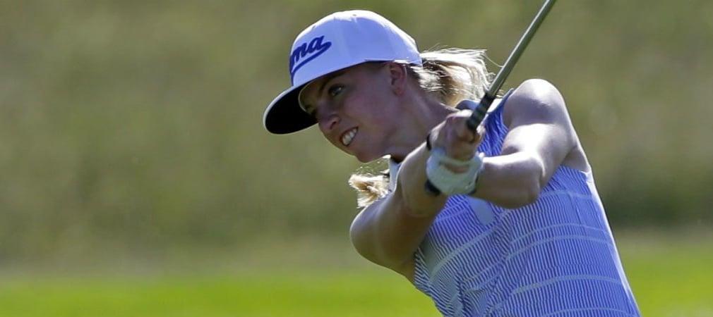 Sophia Popov rückt in der Weltrangliste vor. (Foto: Getty)