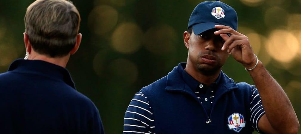 Wird Tiger Woods unter Davis Love II nochmal beim Ryder Cup antreten? (Foto: Getty)