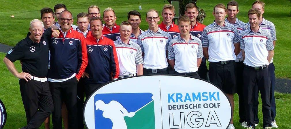 Das Team des GC Mannheim-Viernheim musste schon nach den Einzeln jubeln (Foto: DGV/Kirmaier)