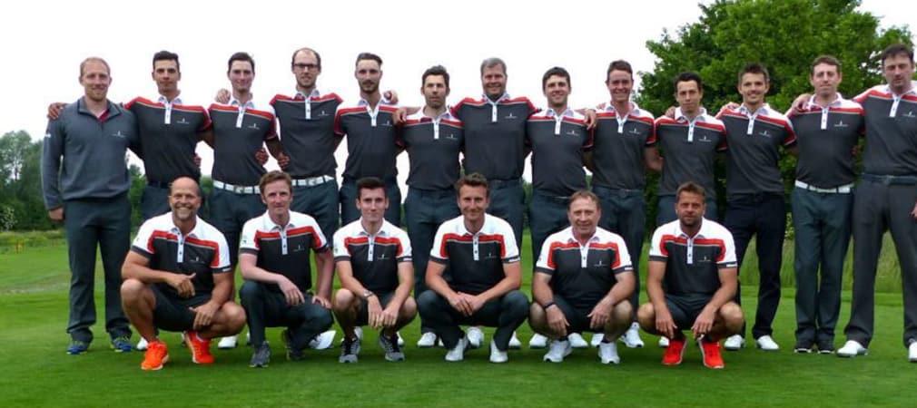 Sieger daheim: das Team des GC St. Leon-Rot. (Foto: DGV/Kirmaier)