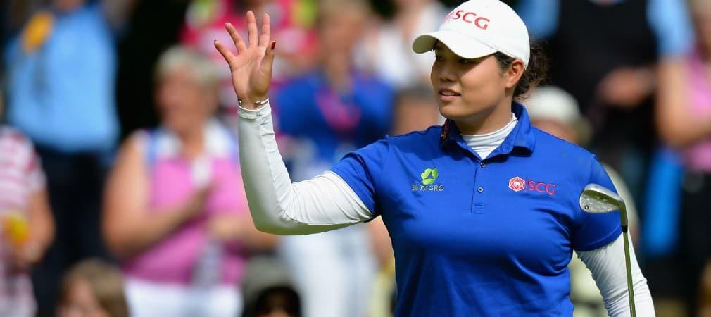 Ariya Jutanugarn schnappt sich die Führung bei der Women's British Open. (Foto: Getty)