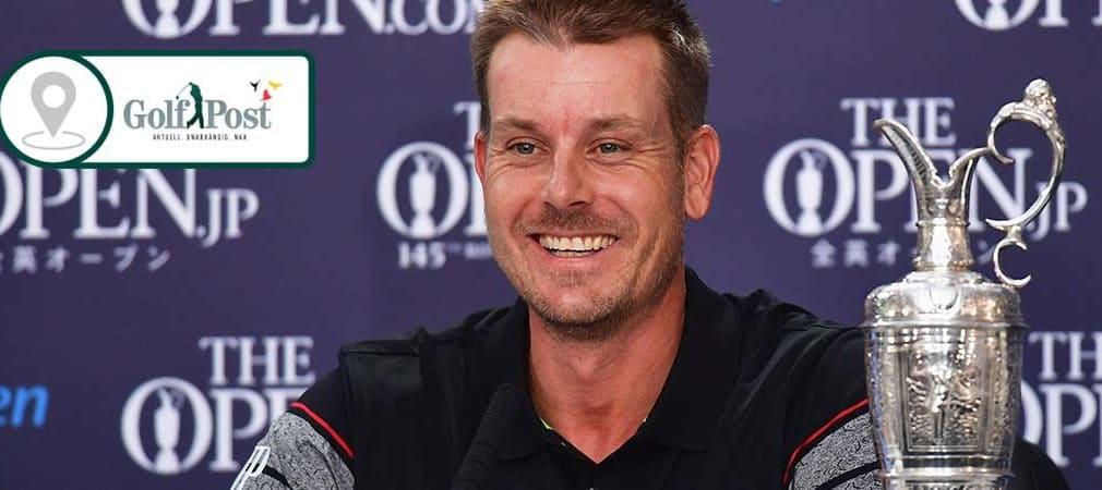 Henrik Stenson gibt einen Einblick in seine Gefühlslage nach dem Sieg bei der British Open 2016.