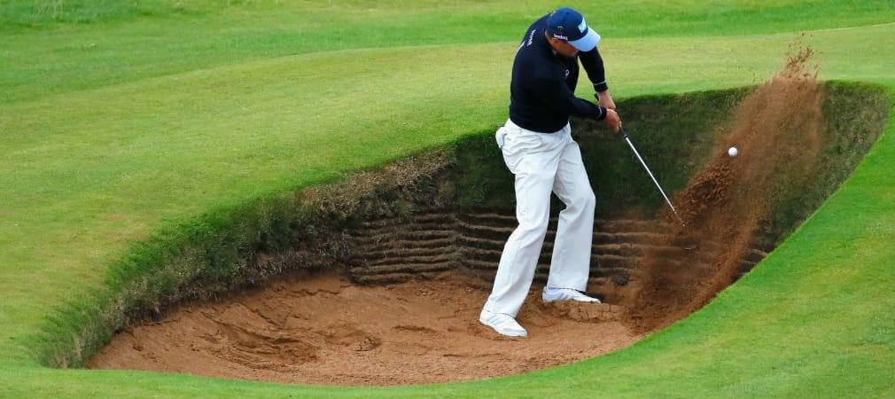 Ein Platz der jeden Golfer an seine Grenzen bringt: Martin Kaymer hatte mit dem Kurs der British Open in Troon zu kämpfen. (Foto: Getty)