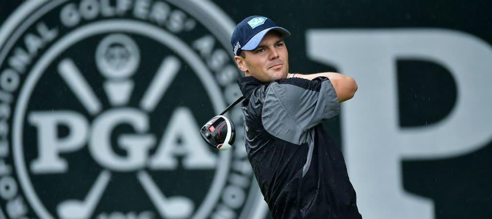 Martin Kaymer hatte am zweiten Tag der PGA Championship gehörig zu kämpfen. (Foto: Getty)