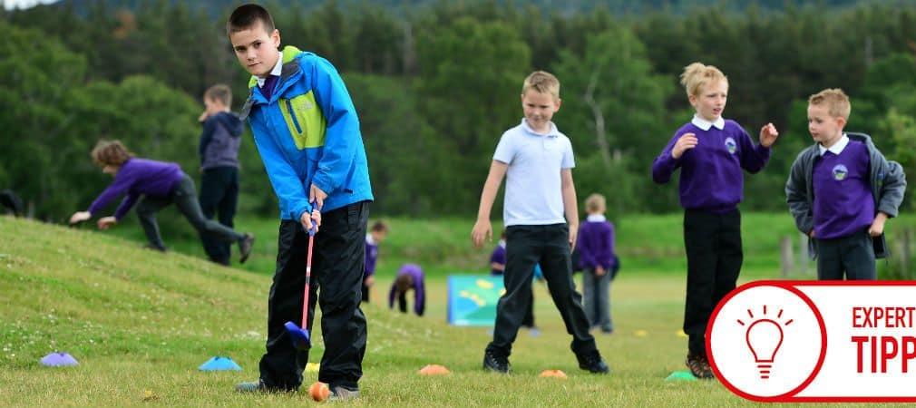 Das Projekt Abschlag Schule soll Kinder an den Golfsport heranführen. (Foto: Getty)