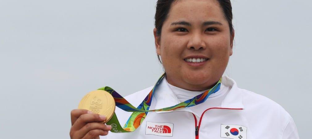 Inbee Park aus Südkorea krönt sich zur ersten Golf-Olympiasiegerin seit 116 Jahren.