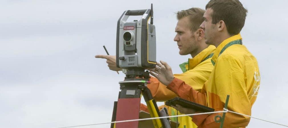 Mit Lasertechnik ausgerüstet: Bei den Olympischen Spielen scannen Messgeräte jeden Schlag auf der Golfanlage von Rio. (Foto: Omega)