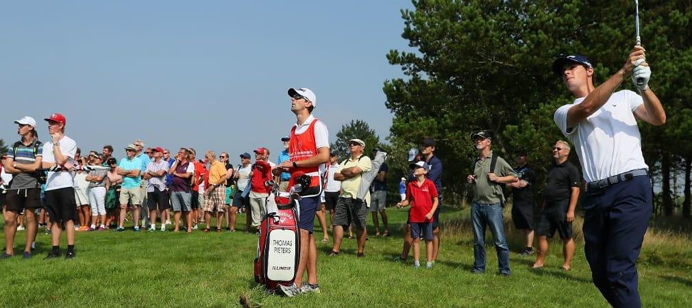 Thomas Pieters sichert sich seinen dritten European Tour Sieg mit Callaway. (Foto: Getty)