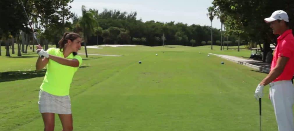 Golftraining multilingual: Martin Kaymer erklärt Golf auf Deutsch. (Screenshot: Golf Digest)