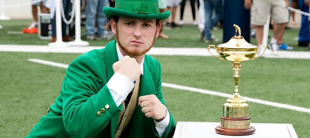 Der Ryder-Cup-Song wurde von der irischen Band Corrigan Brothers komponiert. (Foto: Getty)