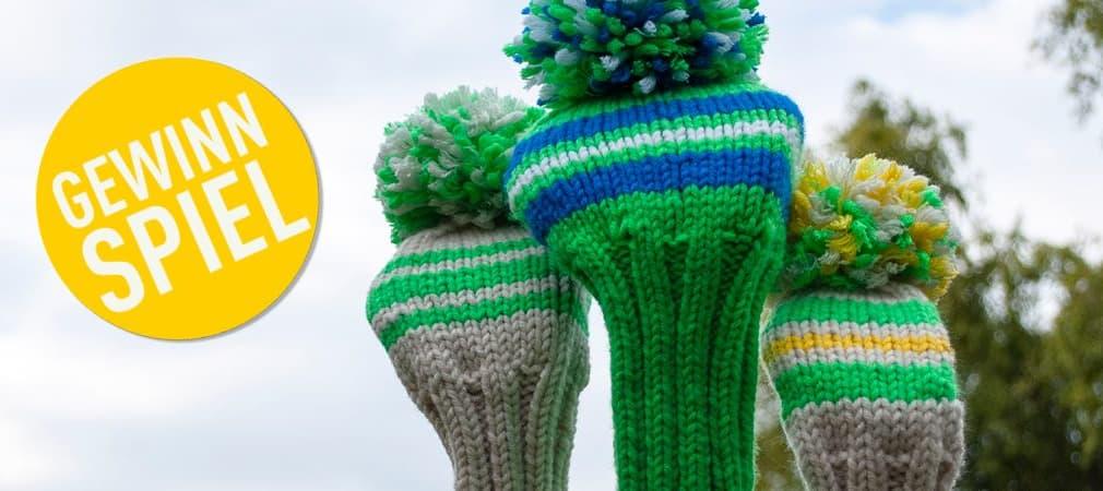 Gewinnen Sie ein individuelles Schlägerhauben-Set von knitcap. (Foto: knitcap)