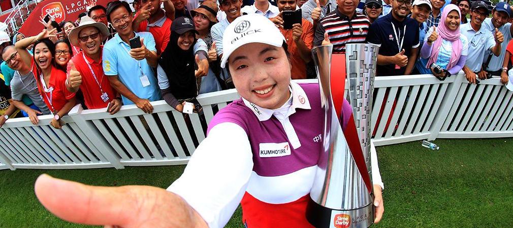 Shanshan Feng Sime Darby LPGA Malaysia 2016 Siegerin Finale